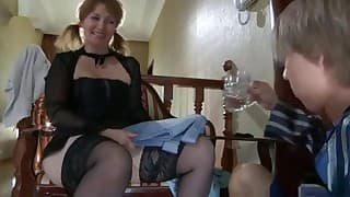 Ladies fucked in nylons