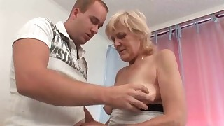 Cute mature blonde big tits fucked so good